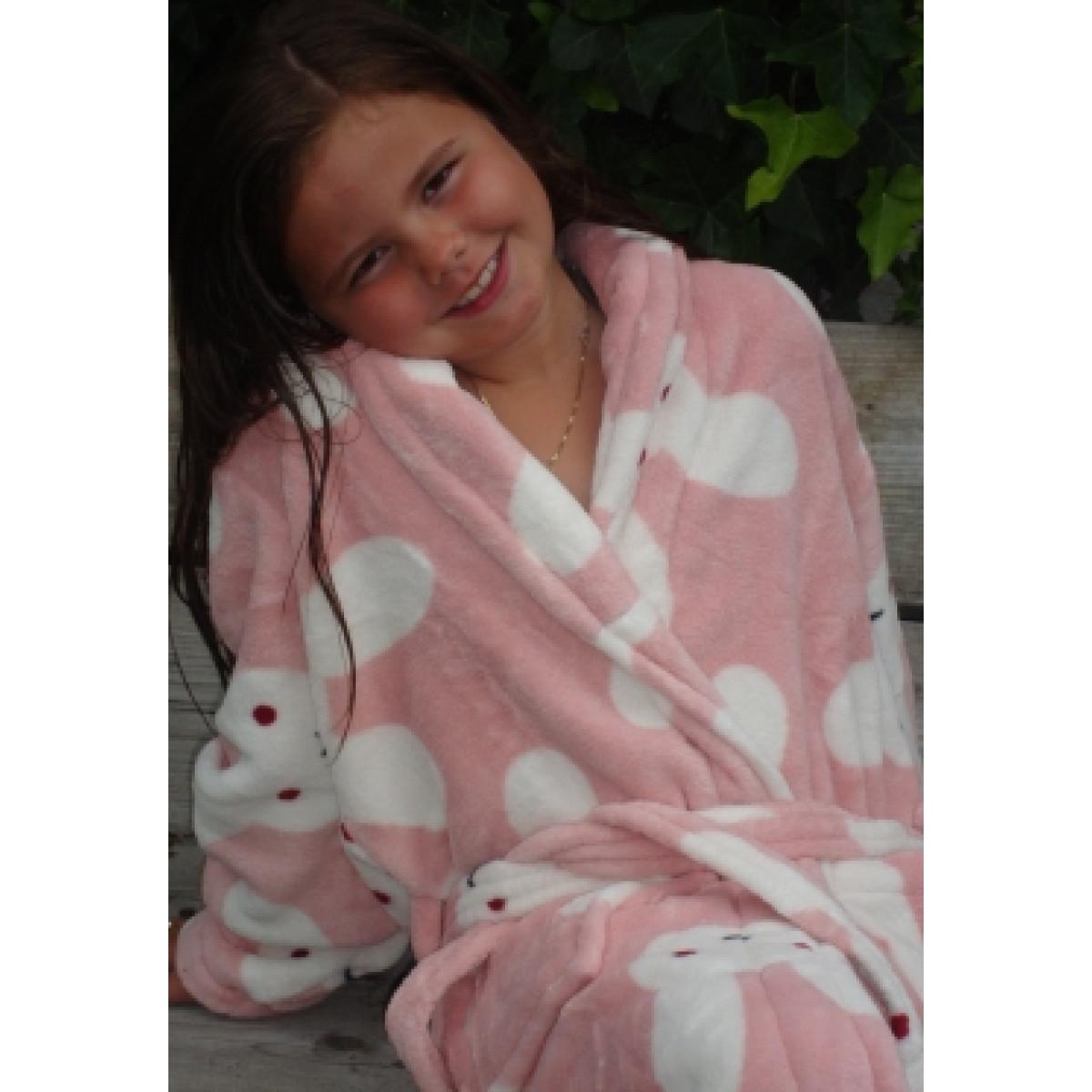 Kinderbademantel Kaninchen