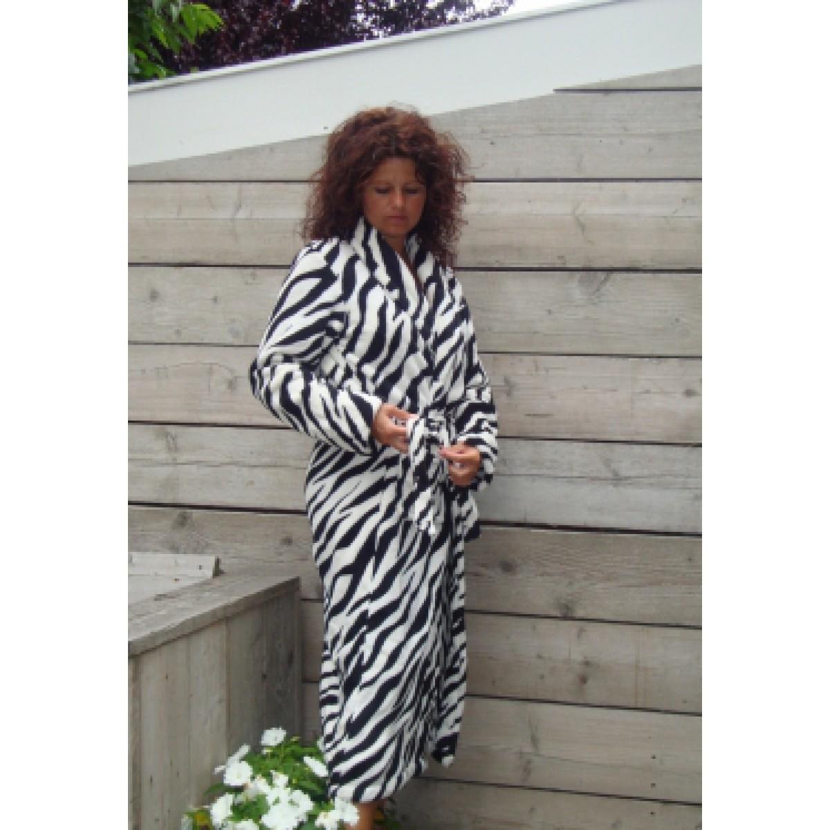 Damenbademantel Zebra online bestellen