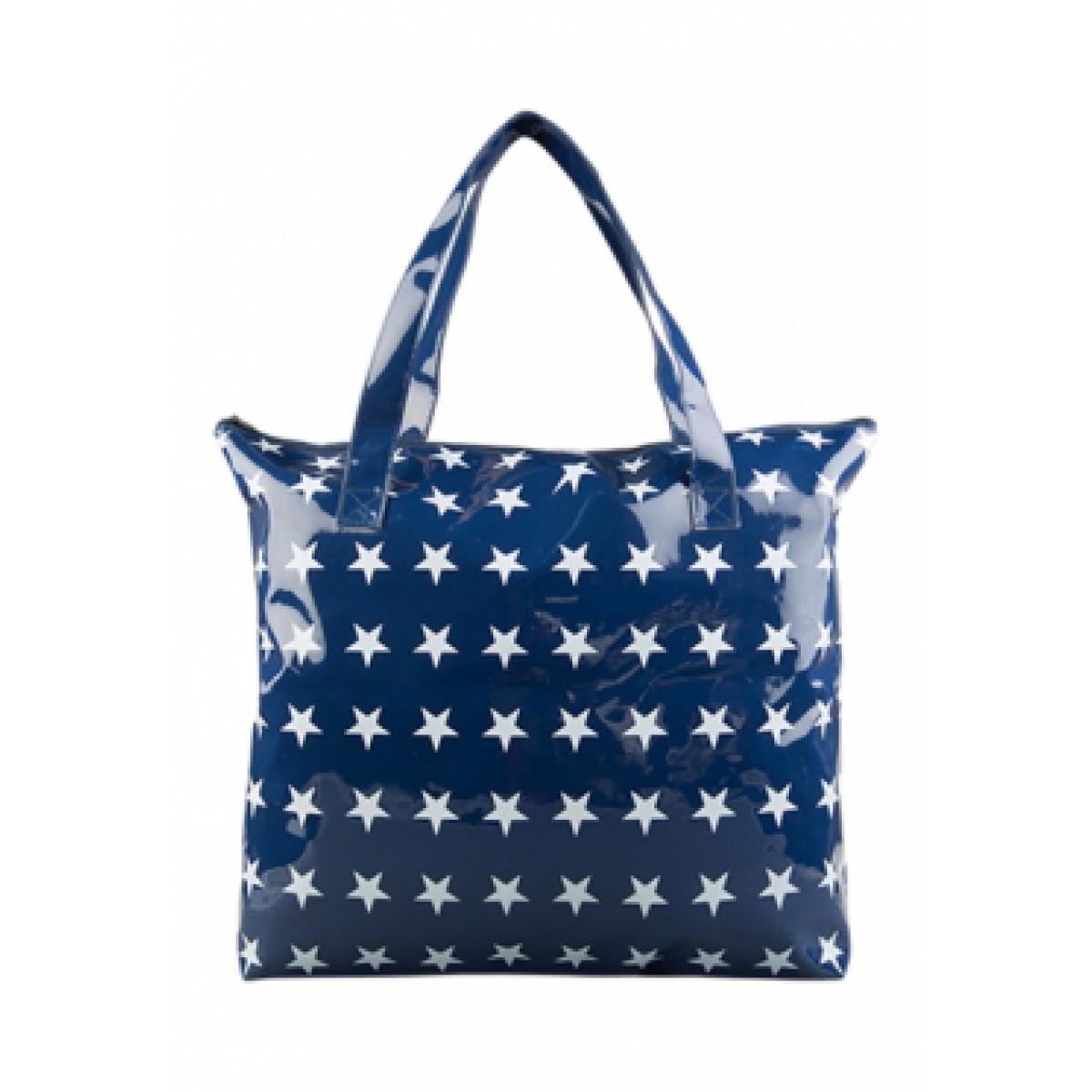 Blaue Geschenkverpackung