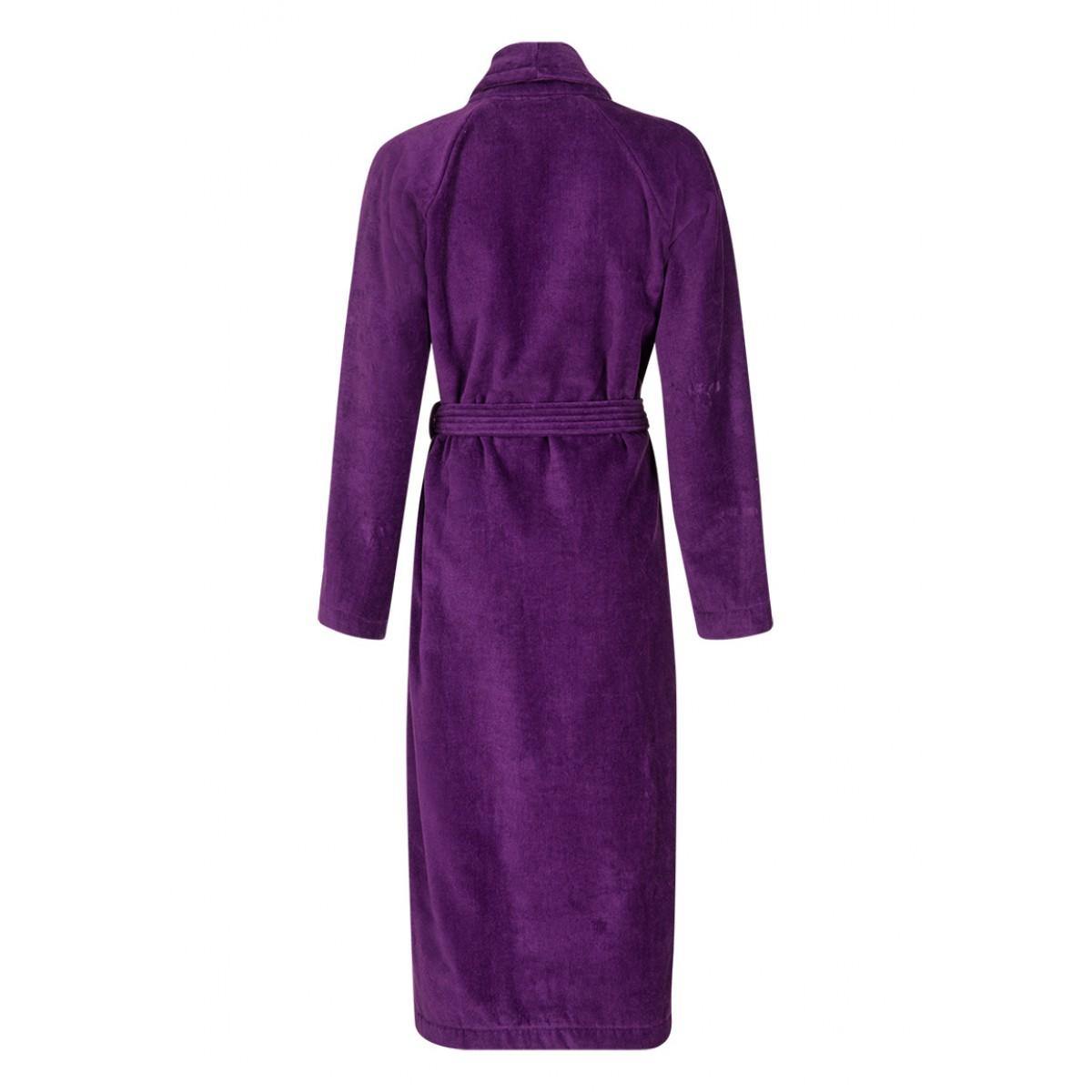 Bademantel violett