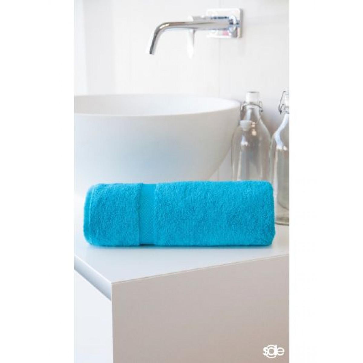 Handtücher aquablau