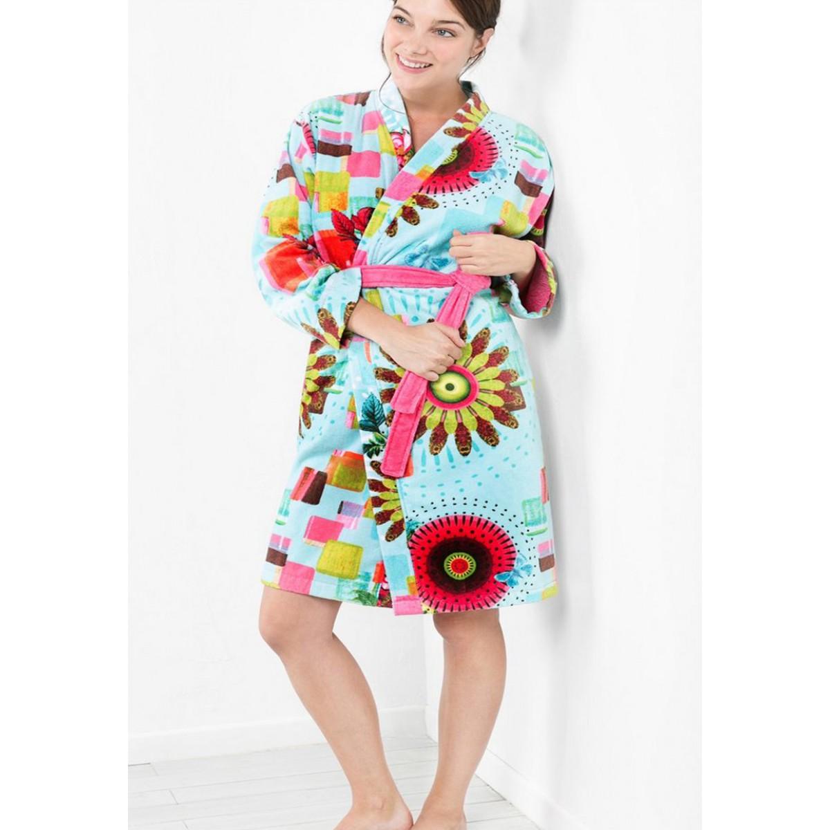 desigual bademantel kimono online badem ntel kaufen. Black Bedroom Furniture Sets. Home Design Ideas