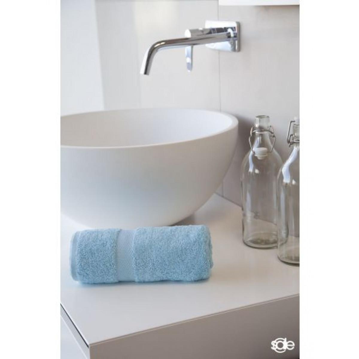 Badetücher hellblau