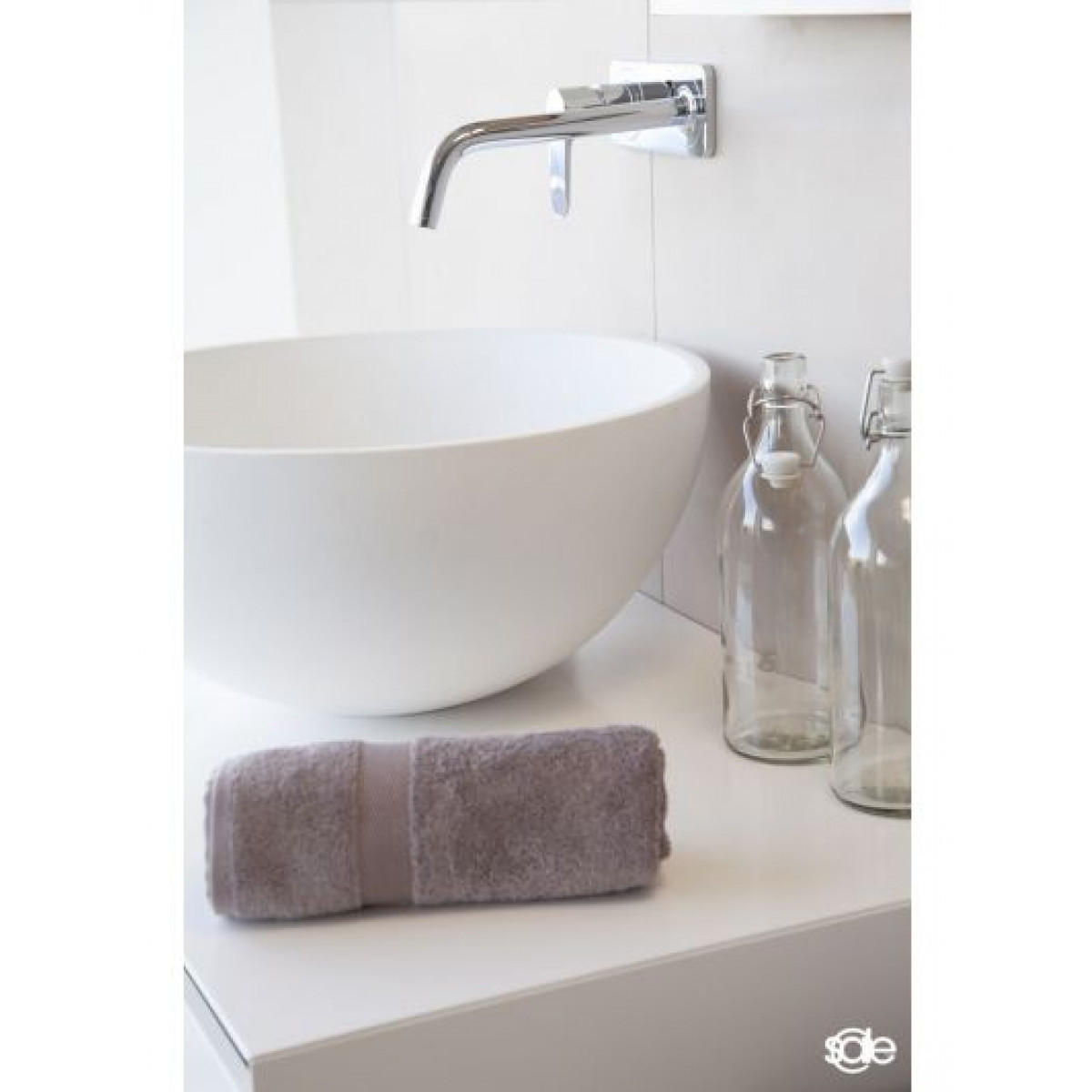 Badetücher taupe