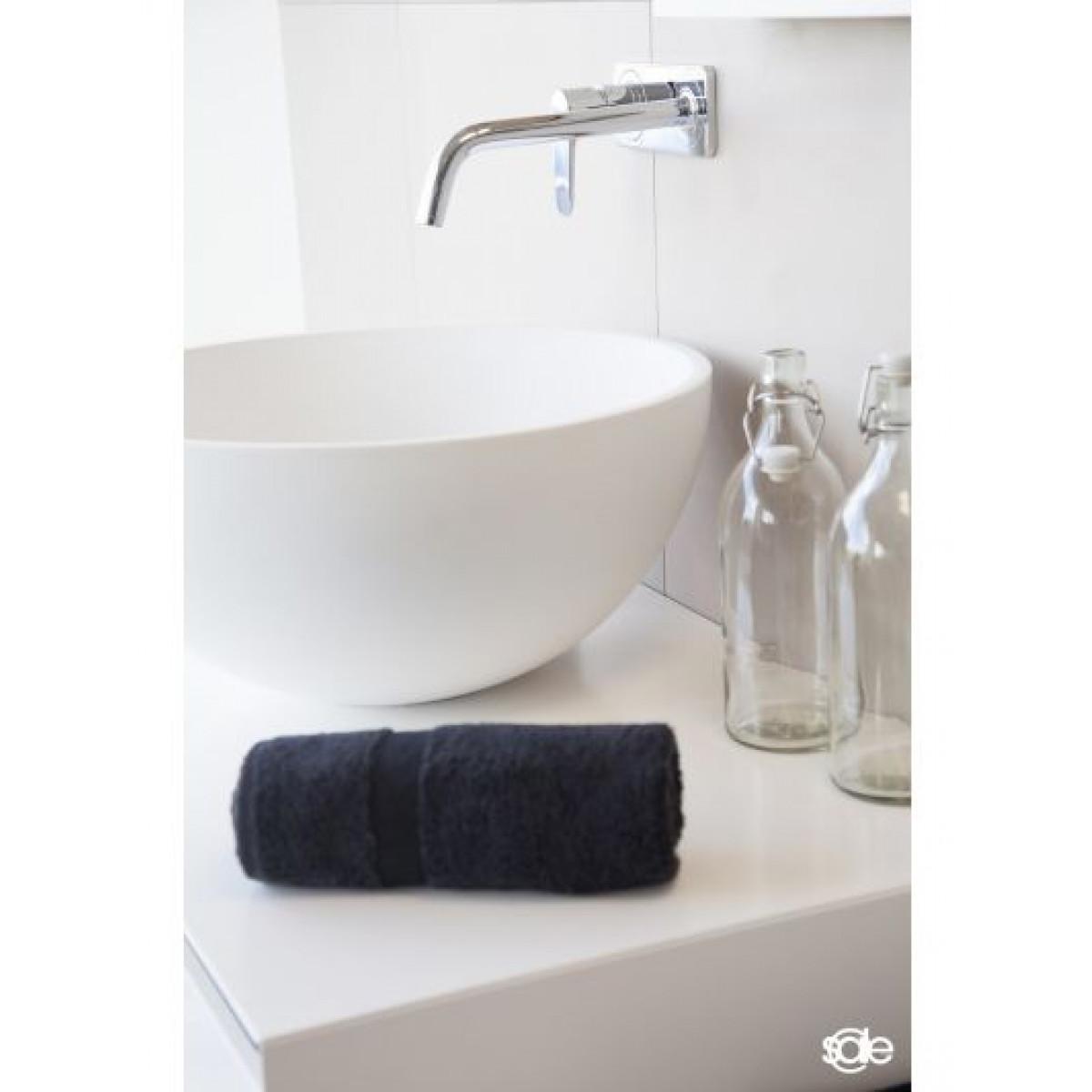 Badetücher schwarz