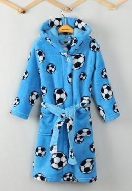 Kinderbademantel Fußball