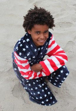 Kinderbademantel USA
