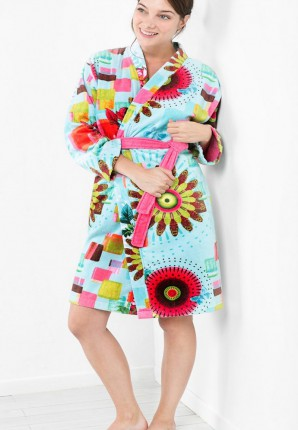 Desiqual bademantel kimono