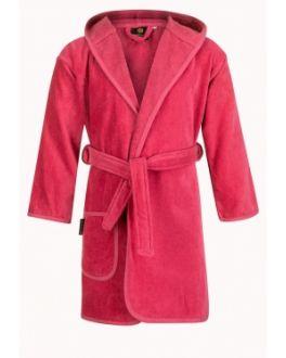 Kinderbademantel rosa