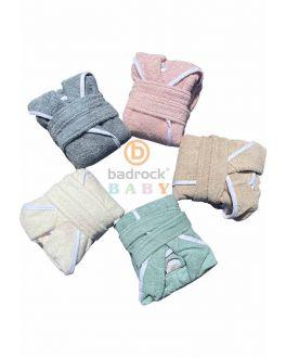 Babybademantel mit Kapuze personalisieren