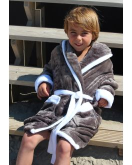 Kinderbademantel mit Kapuze